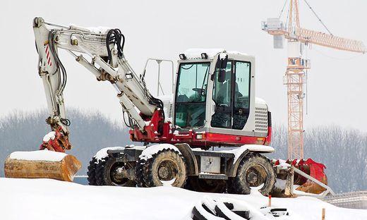 Saisonale Arbeitslosigkeit gibt es speziell in der Baubranche