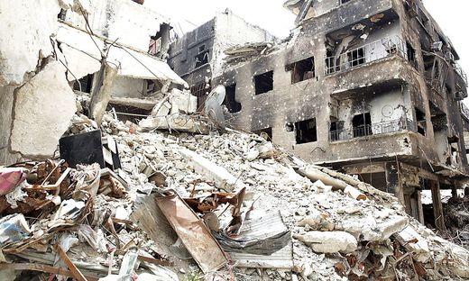 Ein Bild des Krieges aus Syrien