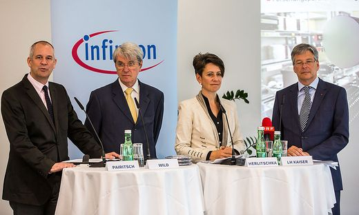 Infineon PK Energiesparchips Sabine Herlitschka Peter Kaiser Andreas Wild Herbert Pairitsch