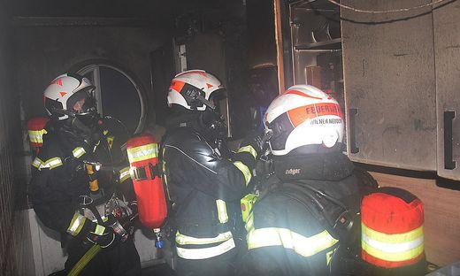 Die Feuerwehr konnte den Brand löschen