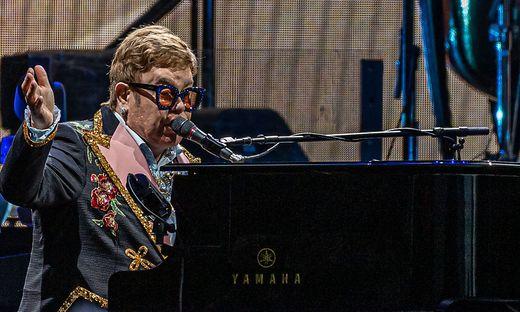 Elton John begeisterte am Mittwoch auf dem Freigelände der Grazer Messe
