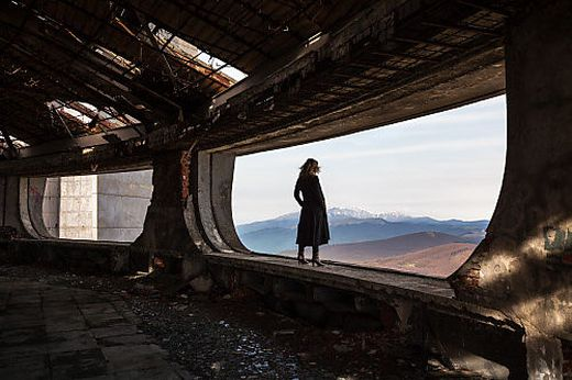 Bulgarische Aussicht oder die Gleichzeitigkeit von Zerfall und Schönheit