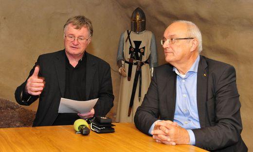 Die Bischöfe Scheuer und Bünker