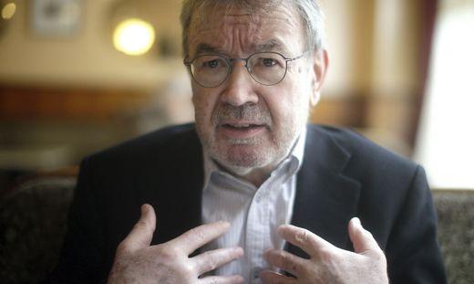 Der österreichische Journalist und Schriftsteller Martin Pollack