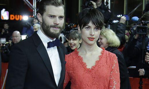 Jamie Dornan (36) und seine Frau Amelia Warner (36)