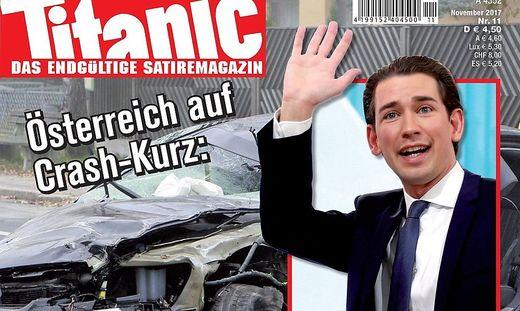 Satire Magazin Titanic Macht Kurz Wieder Zum Baby Hitler