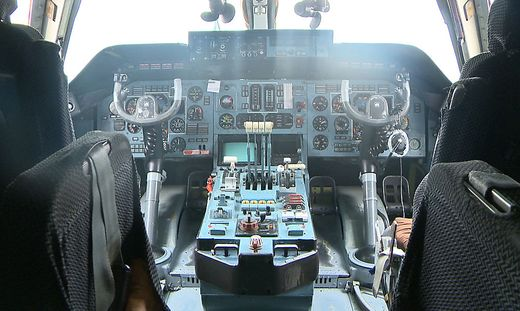 Antonov sorgte für Lärmentwicklung