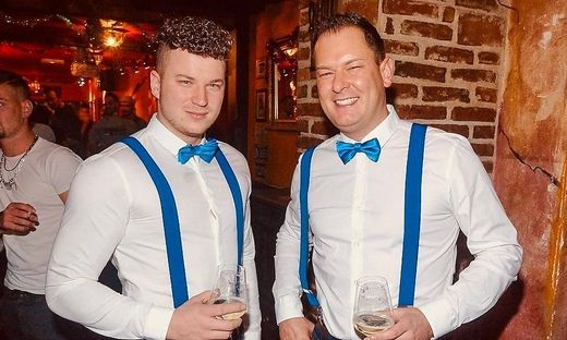Matthias Kopper und Markus Kaefer Discobetreiber Disco Excalibur Hartberg