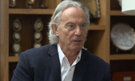 Tony Blair im ITV-Interview (Screenshot)