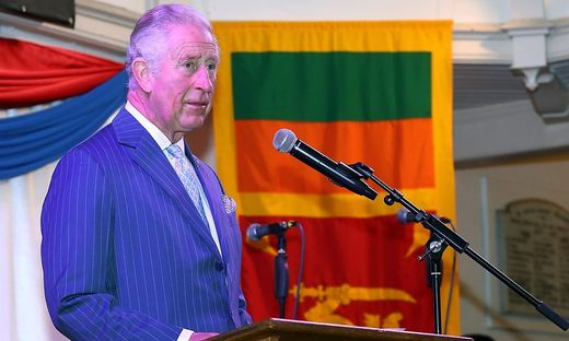 Prinz Charles tröstet Australier in Video