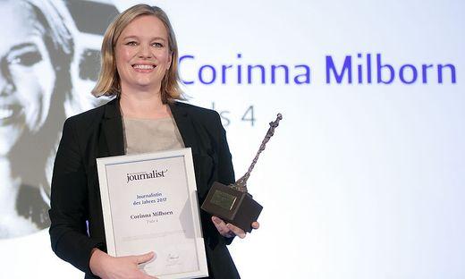 Journalistin des Jahres: Corinna Milborn