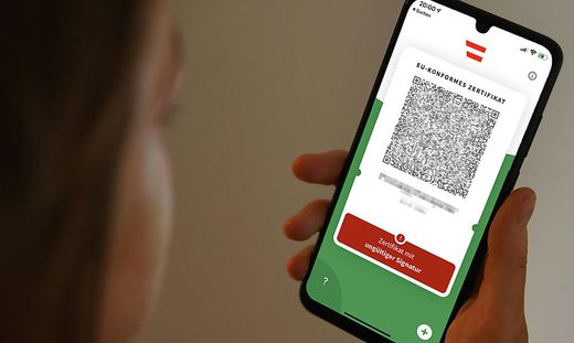 """Die Meldung """"Signatur ungültig"""" erhielten viele Nutzerinnen und Nutzer der Grünen Pass-App."""