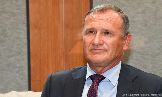 Der ehemalige EU-ÖVP-Abgeordnete Richard Seeber steht vor Gericht.