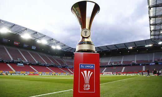 FUSSBALL: UNIQA OeFB CUP / FINALE / LASK - FC RED BULL SALZBURG