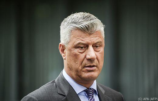 Kosovos Präsident Thaci in Den Haag angeklagt