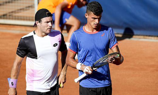 Lucas Miedler und Alexander Erler stehen im Doppel-Halbfinale in Kitzbühel