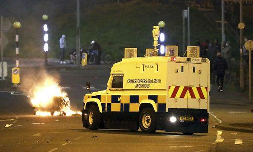In Nordirland kam es zu Zusammenstößen