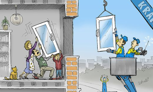 Wer zahlt den Austausch der Fenster?