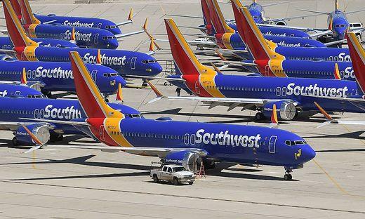 Flugzeuge des Typs Boeing 737 Max 8 bleiben weiterhin am Boden