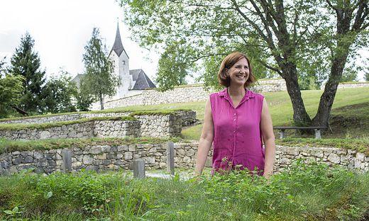 Archäologin Sabine Ladstätter, Grabungsleiterin in Ephesos, auf Heimatbesuch