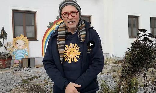Sonnentor-Gründer Johannes Gutmann beim Future Talk der Kleinen Zeitung