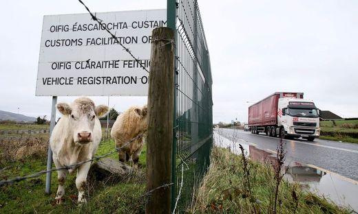 An der inneririschen Grenze in Dundalk