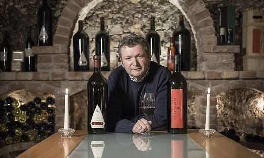 Der Weinkeller ist sein Wohnzimmer: Paul Guttmann