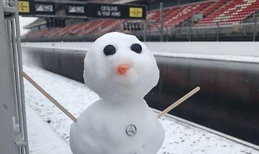 Schnee- statt Servicemänner: Kein Training in Barcelona