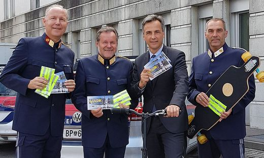 Alfred Kronawetter, Kurt Kemeter, Siegfried Nagl, Gerhard Pirker