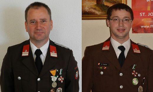 Helmut Zink (links) und Walter Wallner