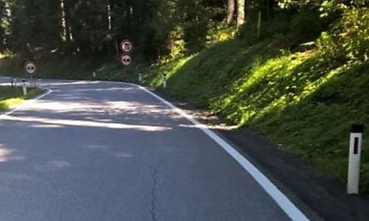 Die Straße auf den Pfaffensattel muss saniert werden