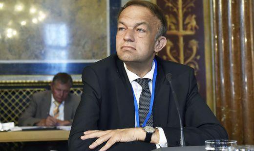 Meinhard Lukas, Rektor der Uni Linz