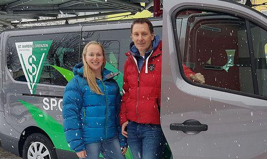 Kathrin Winter und Mario Friesenbichler freuen sich auf das Jubiläum