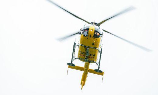 THEMENBILD, Flugrettung, Notarzt-Hubschrauber