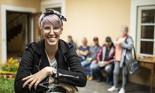 Eggerheim-Leiterin Katrin Starc freut sich über die neue Notschlafstelle in der Stadt