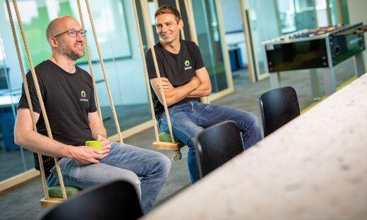 Chris Werding und Martin Moschitz