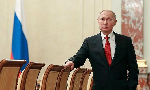 Wladimir Putin: Will er auch nach 2024 am Ruder bleiben?