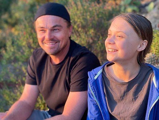 Greta Thunberg trifft Leonardo DiCaprio | Boulevard