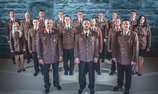 """Die """"vocalfireheroes"""" aus Heiligenkreuz am Waasen"""