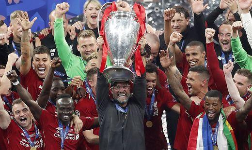 Liverpool jubelt über den Titel in der Königsklasse