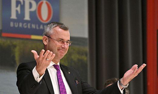 Norbert Hofer, Landesparteichef der FPÖ Burgenland