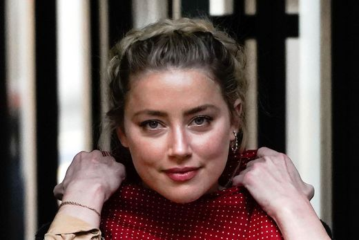 Die US-Schauspielerin Amber Heard