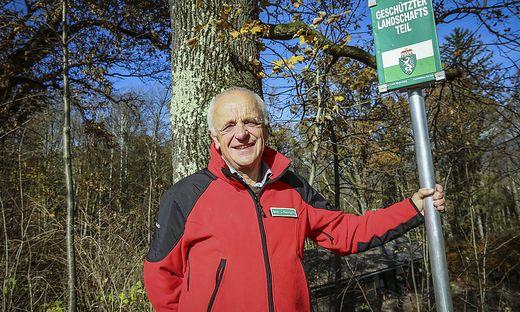 Fritz Stockreiter wirbt um Verständnis für den Naturschutz