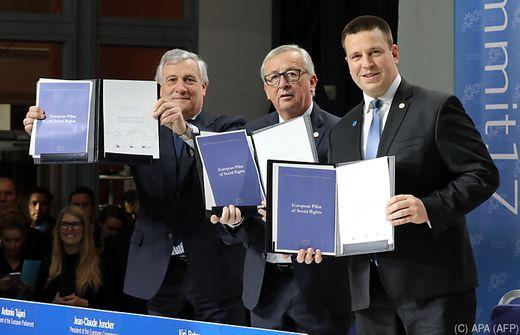 Juncker: Soziale Rechte dürfen nicht nur