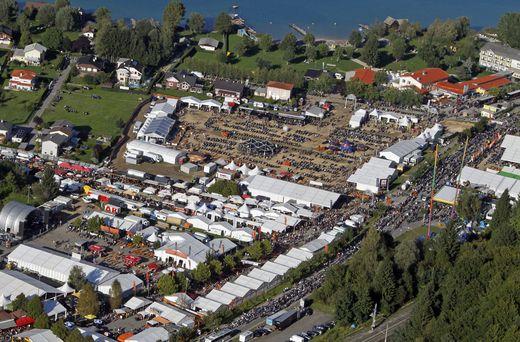 Am Gelände in Faak am See werden auch heuer wieder mehr als 100.00 Besucher erwartet