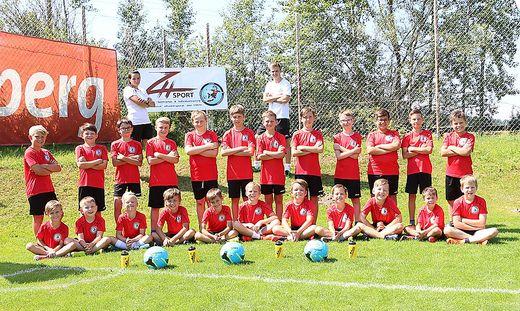 Die Fußballcamps, hier jenes in Kindberg im vergangenen Sommer, erfreuen sich großer Beliebtheit