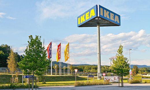 Sieben Einrichtungshäuser, darunter jenes in Klagenfurt, hat Ikea in Österreich