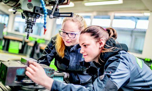 Lehrlinge Springer Maschinenbau Friesach Jänner 2018