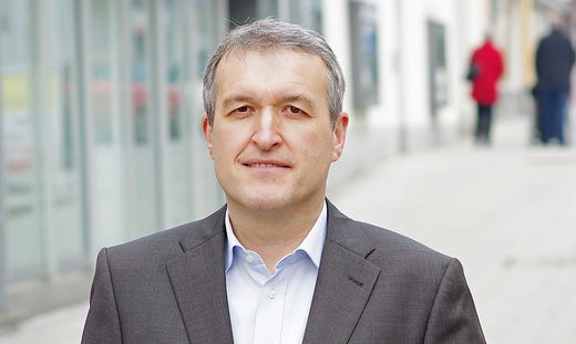 Mürzzuschlager Bürgermeister Karl Rudischer