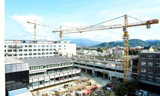 Graz Baustelle